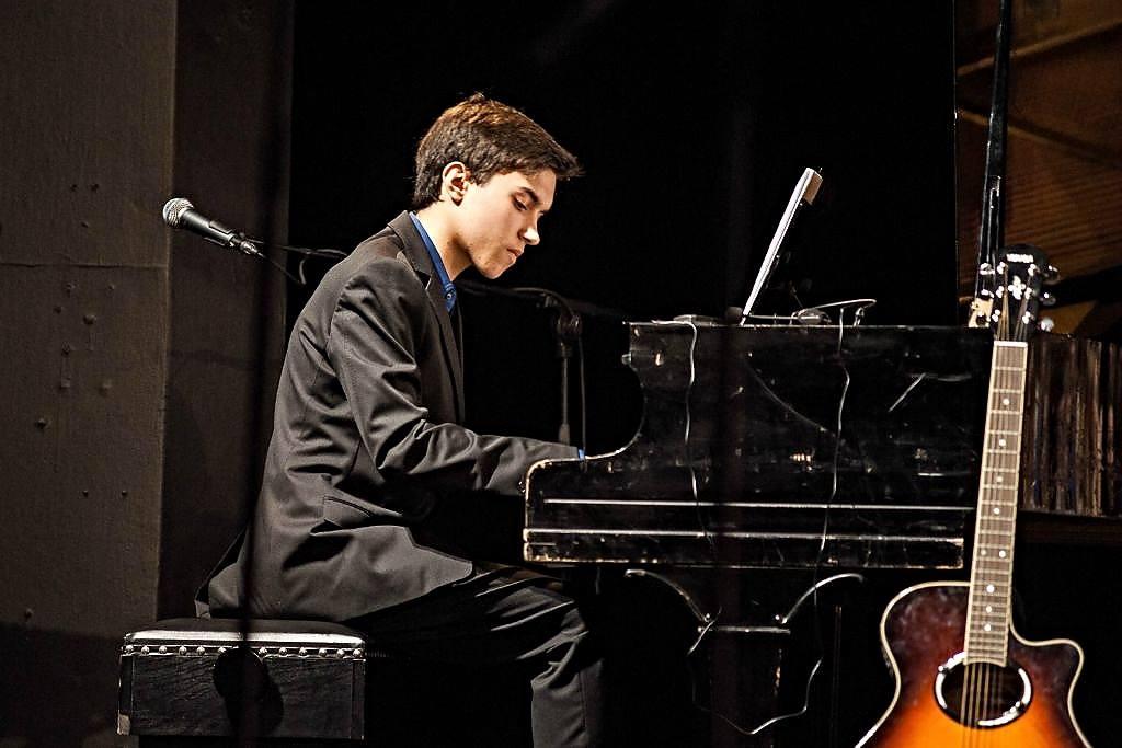 Záznam vystoupení klavíristy Pavla Vondráčka